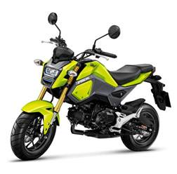 MSX:Honda Grom Gets Streetfighter Look for 2016