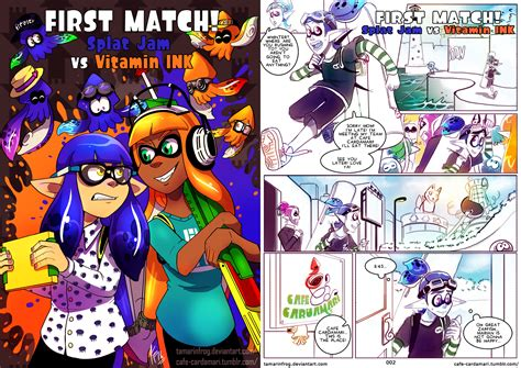 First Match! Splat Jam Vs Vitamin Ink-cover+page 2 By
