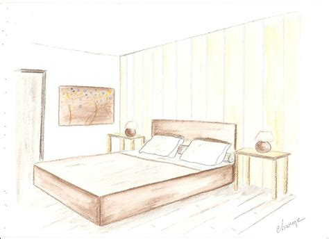 croquis chambre a coucher croquis chambre ambiance multicolore decor 39 in idées