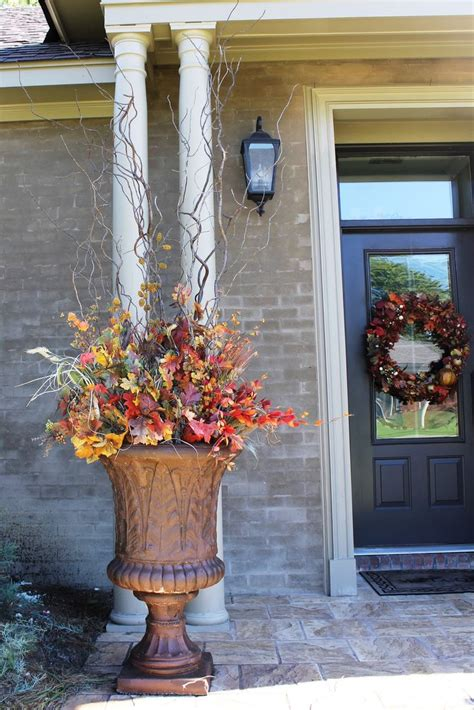 outdoor decorations 883 best fall gardens and porches images on
