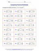 Compare Two Fractions The Numerators Are Equal The Denominators Are Ideas About Fractions Ks2 On Pinterest Math Help Math Fractions Equivalent Fractions And Comparing Fractions Sheet 5 URBrainy Maths Worksheets Year 2 Age 6 7 Fractions Recognise Halves