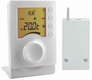 Thermostat D Ambiance : thermostat d 39 39 ambiance radio pour chaudire ou pac non ~ Edinachiropracticcenter.com Idées de Décoration