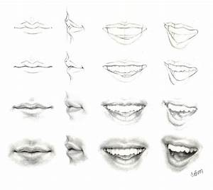 How to draw lips - image #3312798 by helena888 on Favim.com