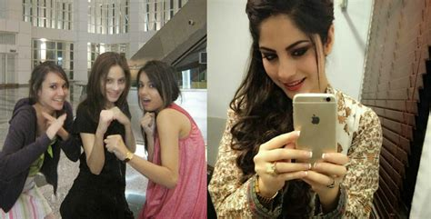 pakistani actress neelam muneer  family unseen pictures