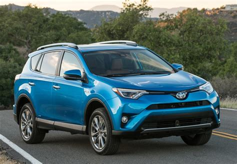 toyota adds  hybrid model   rav compact crossover
