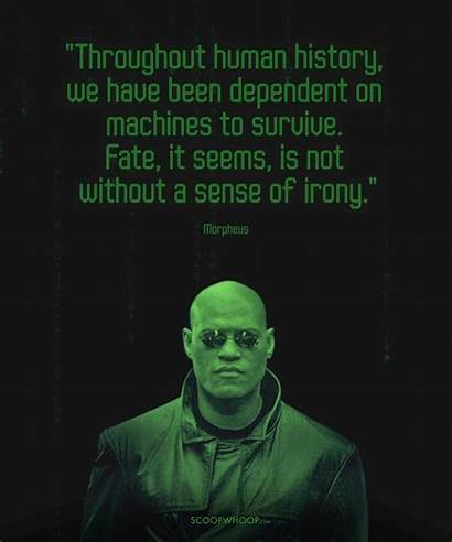 Morpheus Matrix Quotes Prove Wisest He Them