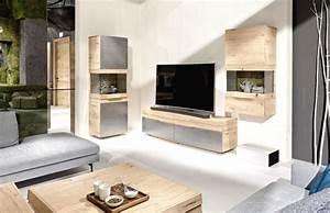 Deco Salon Contemporain : meuble salon pas cher avec decoration design suspendu mural moderne salon mobilier contemporain ~ Melissatoandfro.com Idées de Décoration