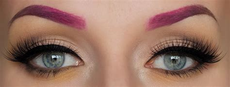 Coloring Eyebrows by Tips To Dye Eyelashes And Eyebrows At Home Womens
