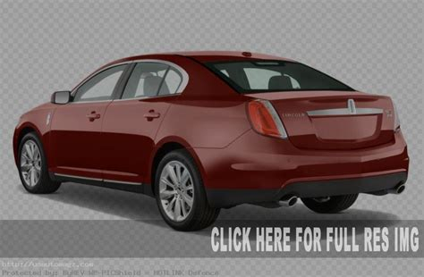 2019 Mks Lincoln Rendered Exterior Red Color  2019 Auto Suv