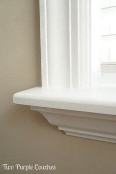 Window Sill Profiles by How To Install Your Own Window Trim Home Kitchen