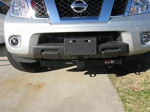2005 Nissan Frontier Curt Front Mount Trailer Hitch