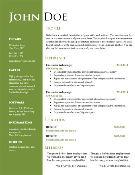 creative resume cv template     cv