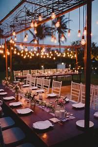 best 25 outdoor wedding tables ideas on pinterest With outdoor wedding lighting setup