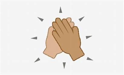 Five Emoji Give Clipart Hand Clip Highfive
