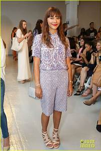 Rashida Jones & Sami Gayle Hit Rebecca Taylor Fashion Show ...