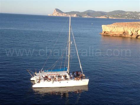 Catamaran Ibiza Boat Party by Catamaran Hire Ibiza 80 People Party Boat Ibiza