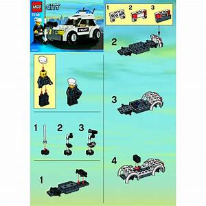 LEGO Police Car Set 7236 Instructions | Brick Owl - LEGO ...