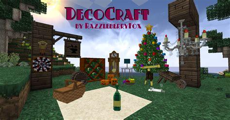 decocraft mod 1 10 2 1 8 9 1 7 10 minecraft mods