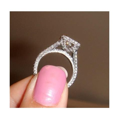 side view of your halo e rings heavy weddingbee