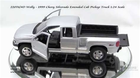 1999 Chev Truck by 22076 4d Welly 1999 Chevy Silverado Extended Cab