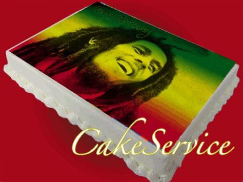 Personalized Birthday Cake Images Bob Marley Personalized Cake Edible Icing Image Birthday