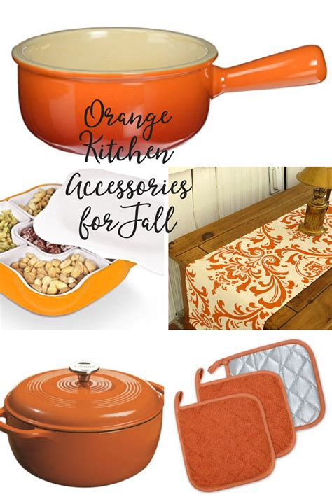 orange accessories for kitchen orange kitchen accessories for fall being tazim 3757