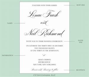 how to wedding invitation wording cz invitations With wedding invitation wording parents first names