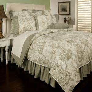 sherry kline country toile 6 piece comforter set reviews