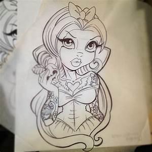 New School Pin Up Girl Tattoo Designs | www.imgkid.com ...