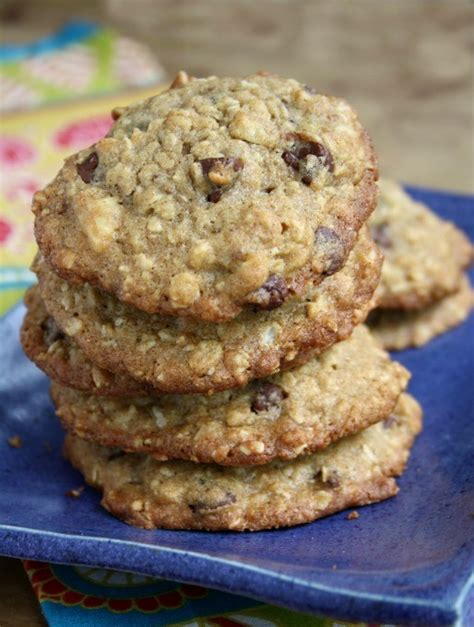 Cape Cod Oatmeal Chocolate Chip Cookies With A Healthy