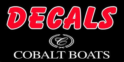 Cobalt Boats Emblem by Cobalt Boat Decals Cobalt Boat Emblem