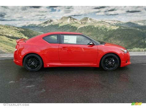 Absolutely Red 2013 Scion Tc Release Series 8.0 Exterior