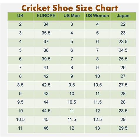 european shoe size chart printable