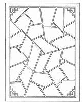 Geometric Coloring Shapes Pages Printable Adult Mandala Coupons Work Sides Shape Colorpagesformom Foyer Adults Patterns Colouring Glass Stained Dresser Accent sketch template