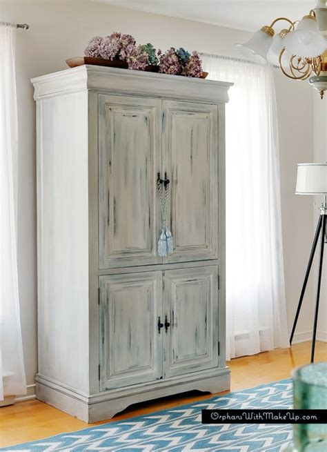 hometalk upcycled media cabinet into armoire