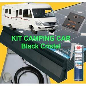 Panneau Solaire Pour Camping Car Monocristallin : kit 120w monocristallin black cristal ~ Nature-et-papiers.com Idées de Décoration