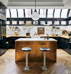 celebrity kitchen decor nate berkus ellen degeneres With kitchen cabinets lowes with new york themed wall art