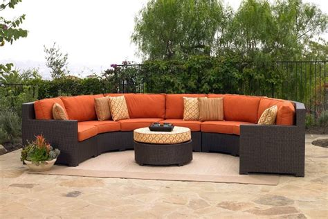 patio furniture sectional 15 choices of cheap outdoor sectionals sofa ideas