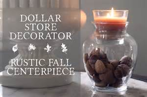 easy centerpieces dollar store hack fall centerpiece allender dot