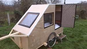 Fabriquer Mini Caravane : caravane pour velo fait maison youtube ~ Melissatoandfro.com Idées de Décoration