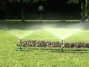 Systeme Arrosage Automatique Pelouse : rain jet arrosage enterr fr youtube ~ Nature-et-papiers.com Idées de Décoration