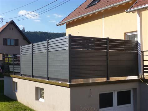 Brise Vue Bois Terrasse Brise Vue Transparent Pour Balcon