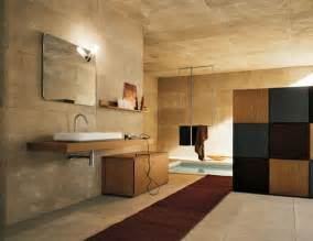 bathroom with stone walls 600x514