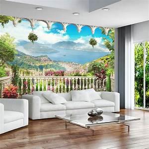 Papier Peint Trompe L Oeil 3d : les 10 meilleures images du tableau papier peint paysage ~ Melissatoandfro.com Idées de Décoration