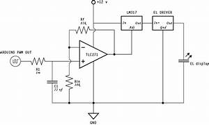 PWM and EL smooth dimming: Enactive Environments