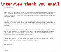 April 2015 Samples Business Letters Sample Thank You Letter After Interview 5 Plus Best How To Get A Job An Interview Thank You Letters Template One Sample Interview Thank You Letter
