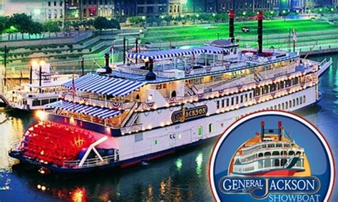 Dinner On A Boat In Tennessee by General Jackson Showboat In Nashville Tennessee Groupon