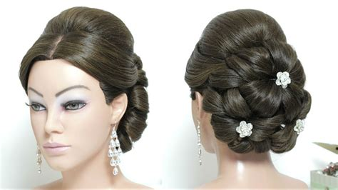 Bridal Juda Hairstyle For Long Hair Tutorial