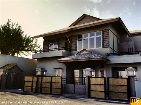 Natural Design Home House Exterior Design