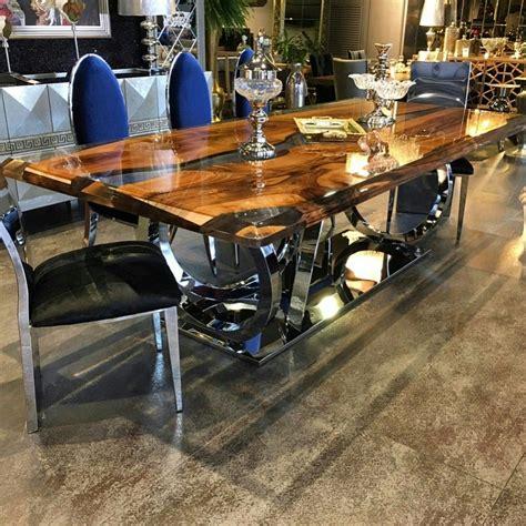 Walnut Epoxy Table By Lara Wood  Resin Wood Table